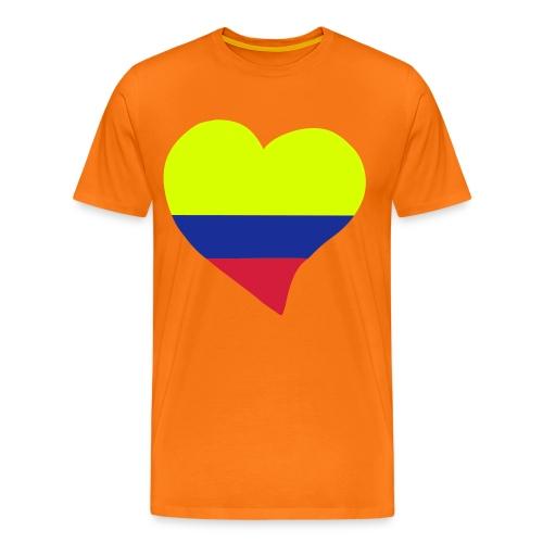 Colombia en mi Corazon - Camiseta premium hombre