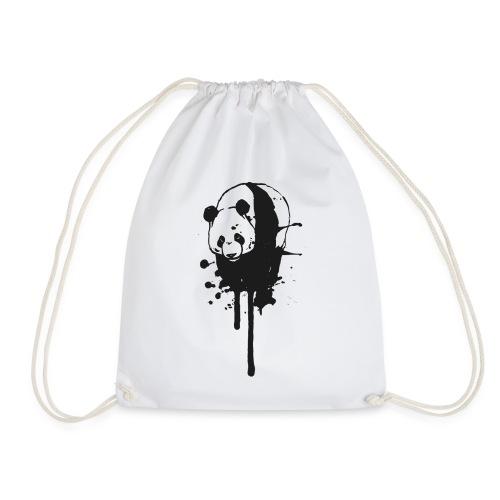 Drawstring Bag Ink-Panda  - Turnbeutel
