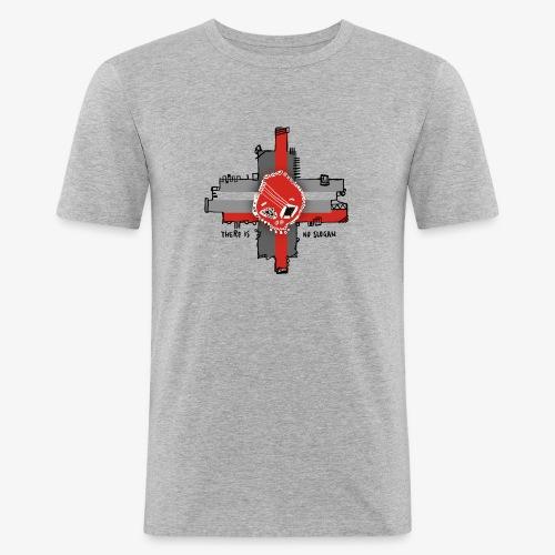 Skull Maya - Men's Slim Fit T-Shirt