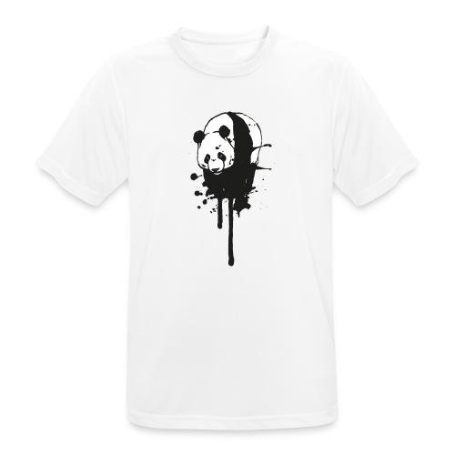 T-Shirt Ink-Panda / boys - Männer T-Shirt atmungsaktiv