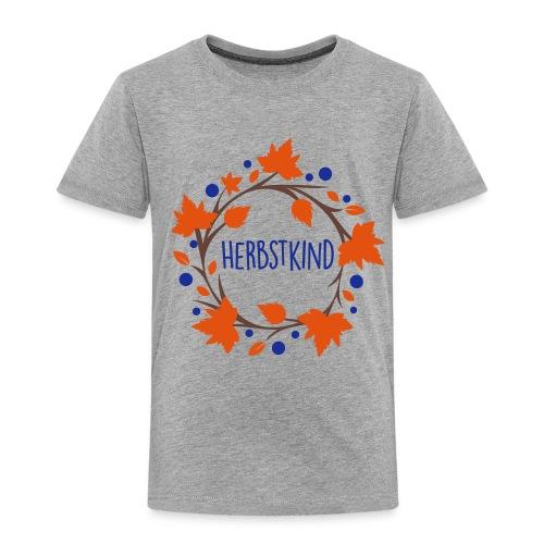 Herbstkind - Schulkind - Kinder Premium T-Shirt