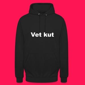 Unisex hoodie 'Vet kut' - Hoodie unisex
