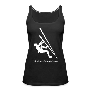 Ladies tank top with logo  - Women's Premium Tank Top