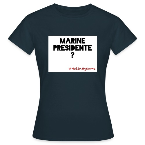 Tshirt femme Marine - T-shirt Femme