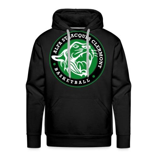 Hoodie personnalisable University HOMME - Sweat-shirt à capuche Premium pour hommes