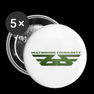ZoGGaZ Buttons 5er Pack - Buttons mittel 32 mm