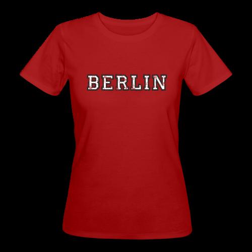 Berlin Vintage (Schwarz/Weiß) Bio T-Shirt - Frauen Bio-T-Shirt