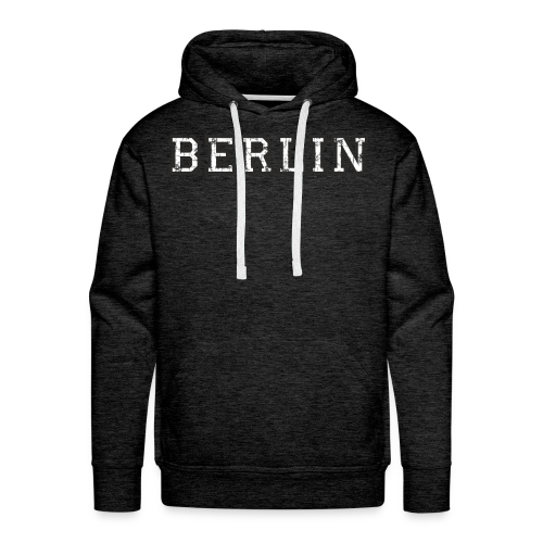 Berlin Vintage (Schwarz/Weiß) Hoodie - Männer Premium Hoodie