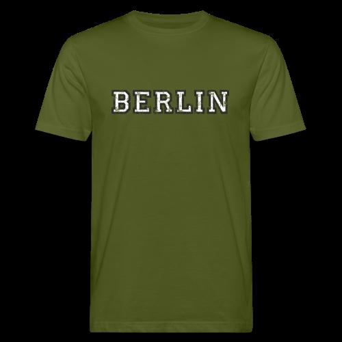 Berlin Vintage (Schwarz/Weiß) Bio T-Shirt - Männer Bio-T-Shirt