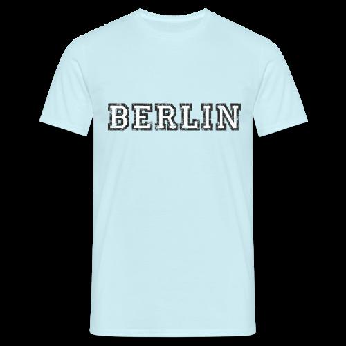 Berlin Vintage (Schwarz/Weiß) T-Shirt - Männer T-Shirt