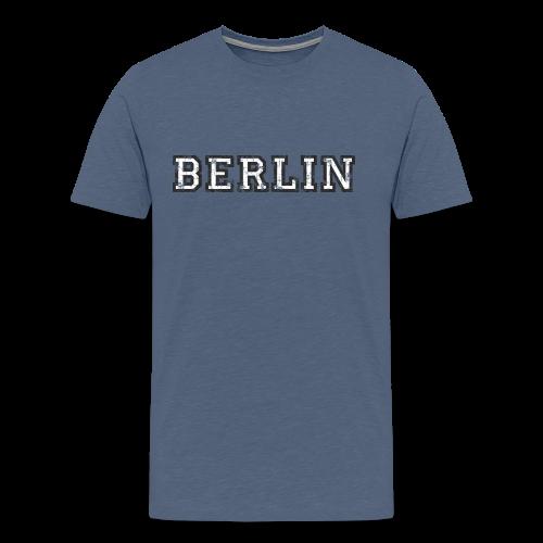 Berlin Vintage (Schwarz/Weiß) S-5XL T-Shirt - Männer Premium T-Shirt