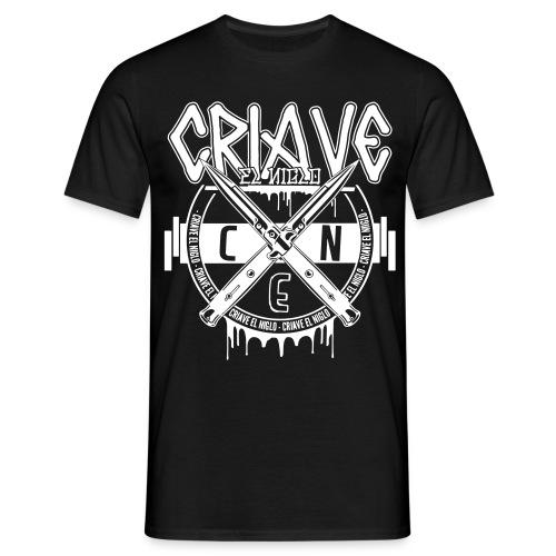 T-shirt noir Snap Knife - T-shirt Homme