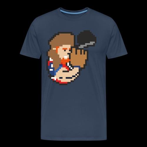 8-Bit-Hunter - Männer Premium T-Shirt