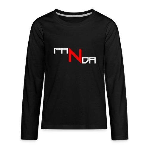 PaNda Tshirt - Teenager Premium Langarmshirt