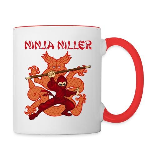 Ninja Niller kop - Tofarvet krus