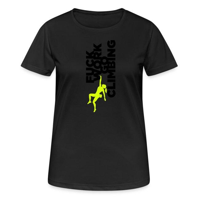 Fuck Work. Go Climbing Girl!