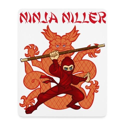 Ninja Niller muse måtte - Mousepad (højformat)