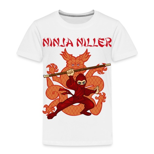 Ninja Niller T-shirt  - Børne premium T-shirt