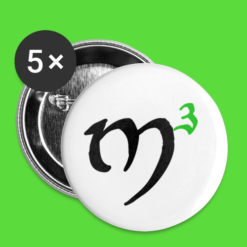 M3 32 mm Button - Buttons medium 32 mm