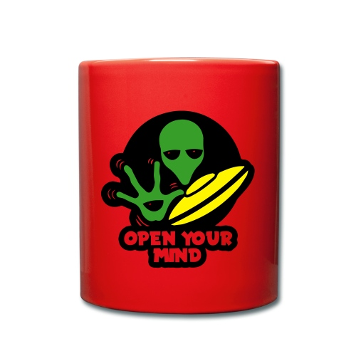 Alien open your mind Mug 1 color - Full Colour Mug