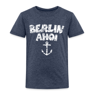 Berlin Ahoi Anker Vintage Weiß