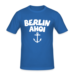 Berlin Ahoi Slim Fit T-Shirt - Männer Slim Fit T-Shirt
