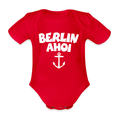Berlin Ahoi Babybody - Baby Bio-Kurzarm-Body