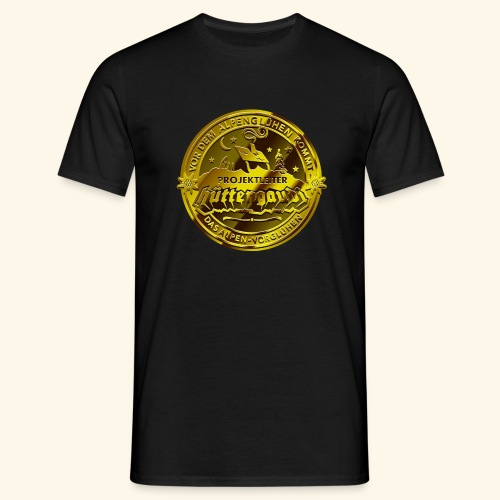 Projektleiter Hüttengaudi T-Shirts - Männer T-Shirt