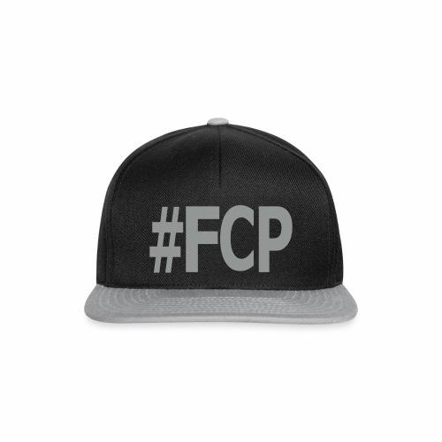 #FCP (Snapback, Schrift: grau) - Snapback Cap
