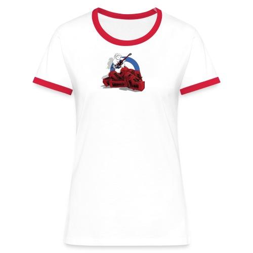T-shirt Jack Mout - Femme - T-shirt contrasté Femme