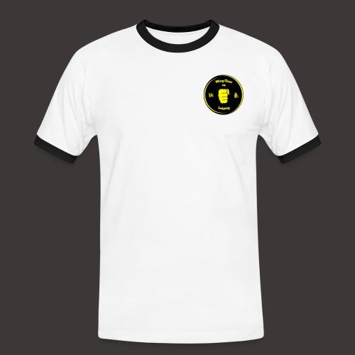Männer Kontrast T-Shirt Baumwolle - Männer Kontrast-T-Shirt