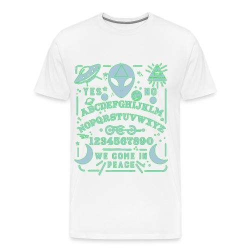 WE COME IN PEACE Test - Maglietta Premium da uomo