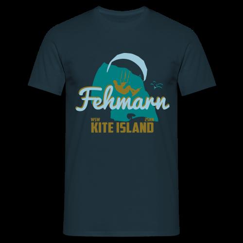 Fehmarn Kiter-T-Shirt Herren - Männer T-Shirt