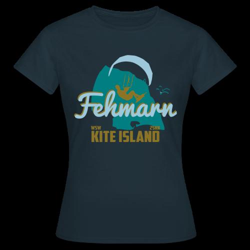 Fehmarn Kiter-T-Shirt Damen - Frauen T-Shirt