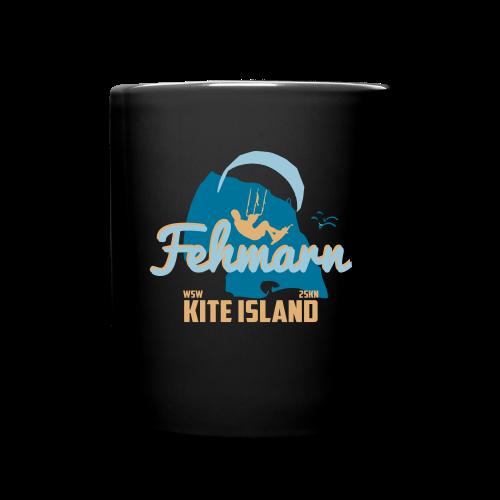 Fehmarn Kiter-Tasse - Tasse einfarbig