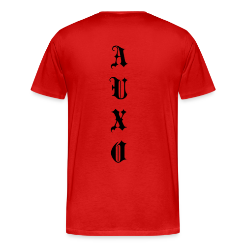 Men's Auxo T-Shirt (Black) - Men's Premium T-Shirt