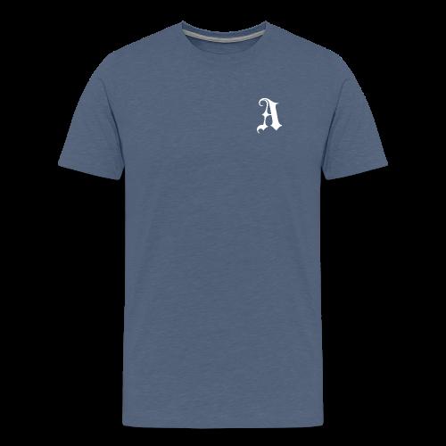 Men's Auxo T-Shirt (White) - Men's Premium T-Shirt