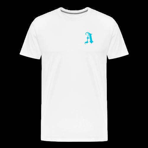Men's Auxo T-Shirt (Blue) - Men's Premium T-Shirt