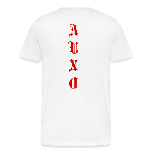 Men's Auxo T-Shirt (Red) - Men's Premium T-Shirt