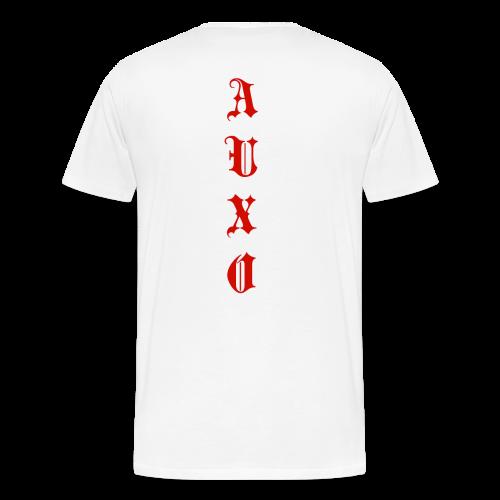 Men's Auxo T-Shirt (Red) - Men's Premium T-Shirt