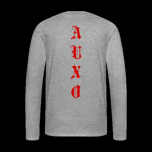 Men's Auxo Long Sleeve (Red) - Men's Premium Longsleeve Shirt