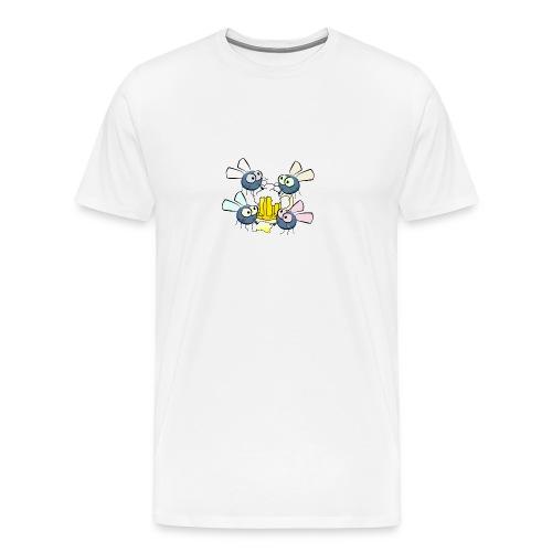 Bierfliegen - Männer Premium T-Shirt
