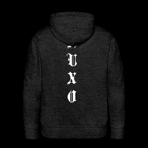 Men's Auxo Long Sleeve (Black) - Men's Premium Hoodie