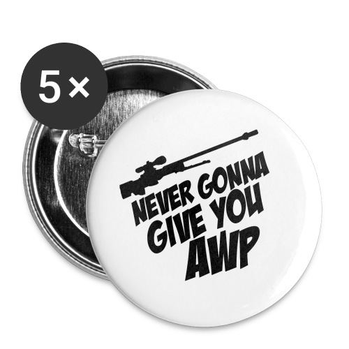 AWP MEM N.1 Buttons large 56 mm : white - Buttons large 56 mm
