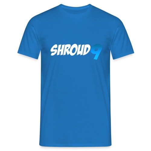 shroud9 Men's T Shirt : royal blue - Men's T-Shirt