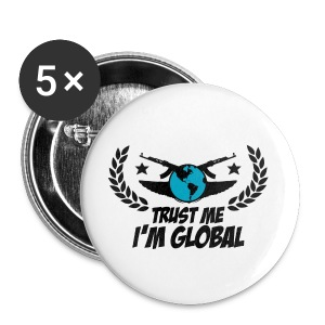 IM Global Buttons large 56 mm : white - Buttons large 56 mm