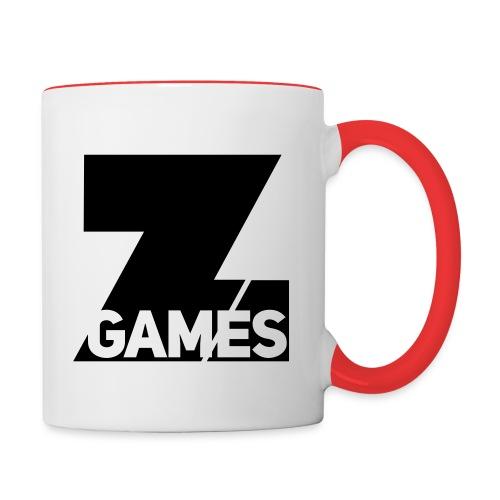 35% OFF RUN ZG Mug : white/red - Contrasting Mug