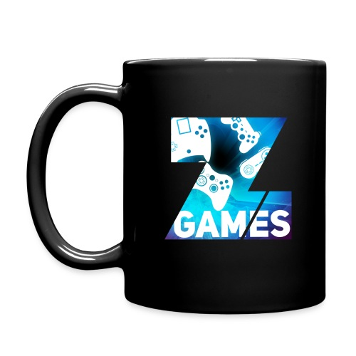 20% OFF Colour logo mug : black - Full Colour Mug