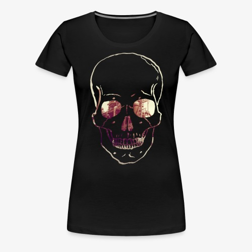 Skull Phoenix West - Frauen Premium T-Shirt