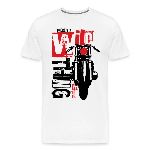 Kabes Wild Thing - Men's Premium T-Shirt